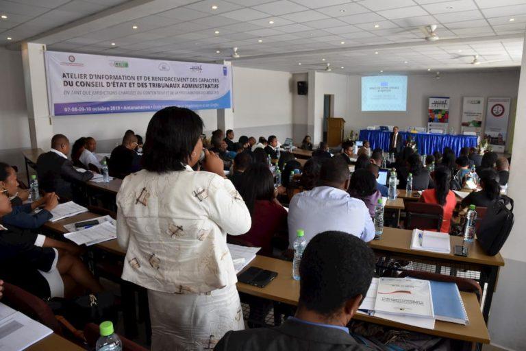 Tribunaux administratifs conseil d'état madagascar élections