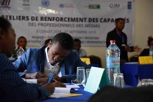 Renforcement capacités journalistes Madagascar élections présidentielles
