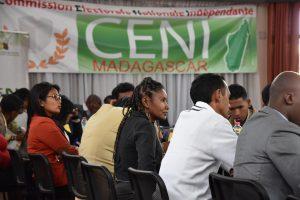 Une formation en cascade au niveau national pour le personnel de la CENI